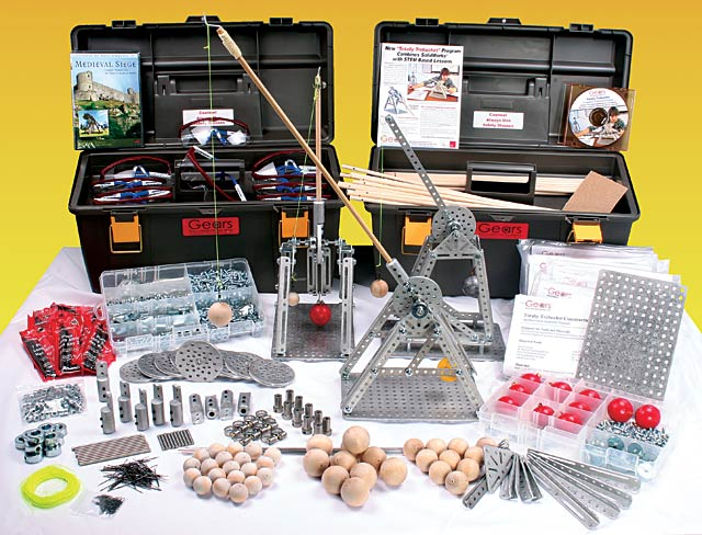 Totally Trebuchet Kit and Curriculum - GEARS Educational Systems
